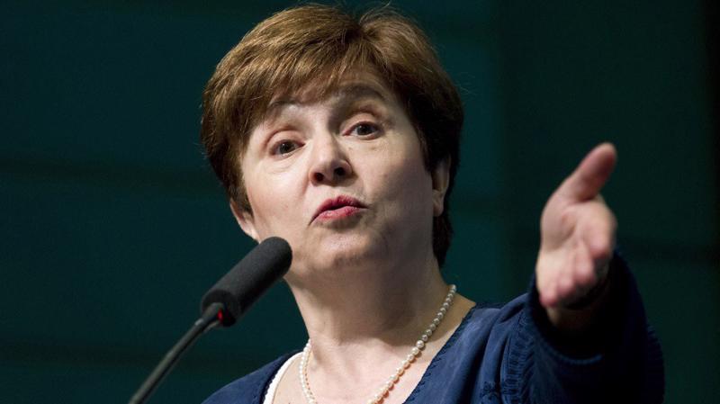 Giám đốc IMF Kristalina Georgieva - Ảnh: AP.
