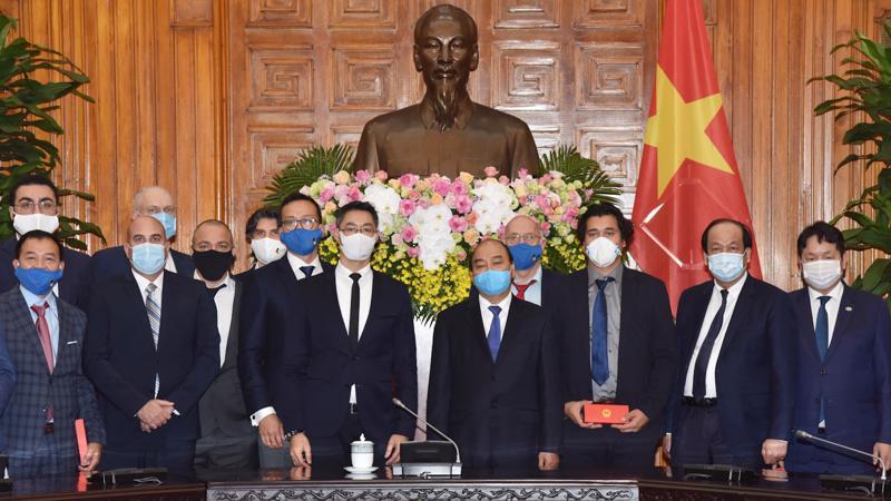 Thủ tướng khẳng định, Việt Nam tiếp tục thực hiện thu hút các dự án FDI về công nghệ cao, đổi mới sáng tạo, phát triển công nghiệp hỗ trợ, đào tạo phát triển nguồn nhân lực.