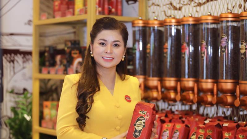 Nữ doanh nhân Lê Hoàng Diệp Thảo, Tổng giám đốc Công ty TNHH TNI King Coffee.