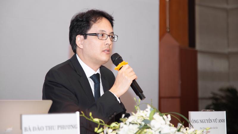 Ông Nguyễn Vũ Anh, Phó tổng giám đốc Công ty TNHH Cốc Cốc.