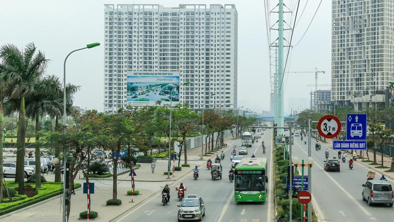 Gồm 25 tầng nổi, 551 căn hộ cao cấp, Anland có mật độ xây dựng thấp chỉ 35%, diện tích còn lại dành cho tiện ích công cộng và cảnh quan chung.
