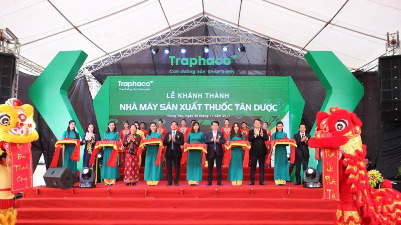 Nhà máy sản xuất dược Việt Nam có tổng vốn đầu tư 477 tỷ đồng, với công suất 1,2 tỷ đơn vị/năm được xây dựng trên diện tích hơn 46 nghìn m2 tại Hưng Yên.