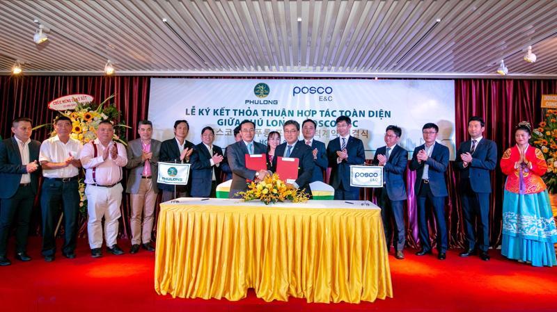 Posco E&C sẽ tham gia trong lĩnh vực tổng thầu xây dựng, thi công các dự án do Phú Long phát triển tại Việt Nam và nước ngoài cùng nghiên cứu và phát triển các đô thị thông minh.