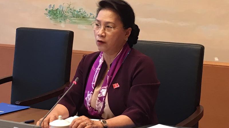 Chủ tịch Quốc hội Nguyễn Thị Kim Ngân tham gia thảo luận về cơ chế đặc thù cho Tp.HCM