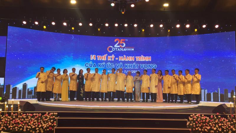 Lễ kỷ niệm 25 năm thành lập Cotana Group