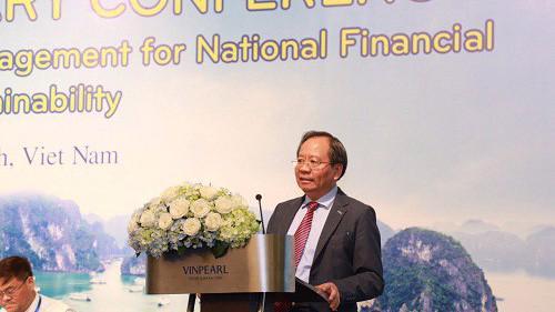 Thứ trưởng Đỗ Hoàng Anh Tuấn phát biểu tại hội nghị.