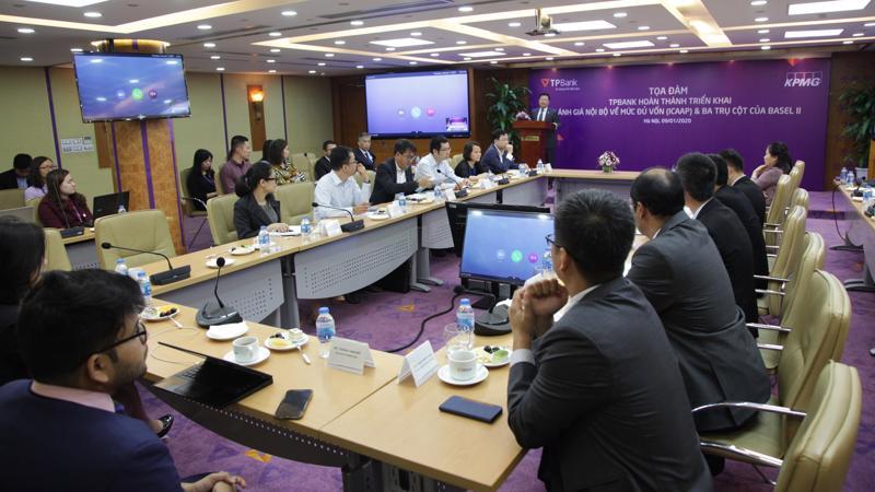 Ông Nguyễn Hưng - Tổng giám đốc TPBank chia sẻ tại sự kiện.
