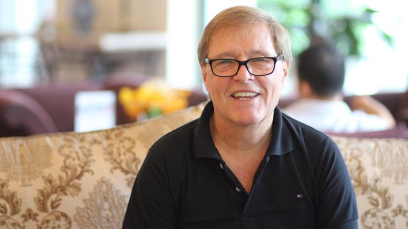 Tiến sĩ - nhà khoa học Kåre Helge Karstensen, Giám đốc Chương trình OPTOCE.