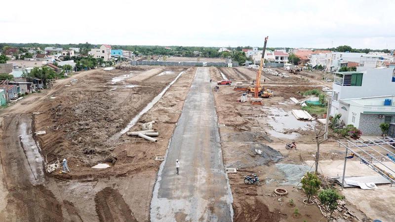 Hiện Thắng Lợi Group đang đẩy mạnh công tác hoàn thiện hạ tầng dự án Thắng Lợi Riverside Market trong quý 4/2018.