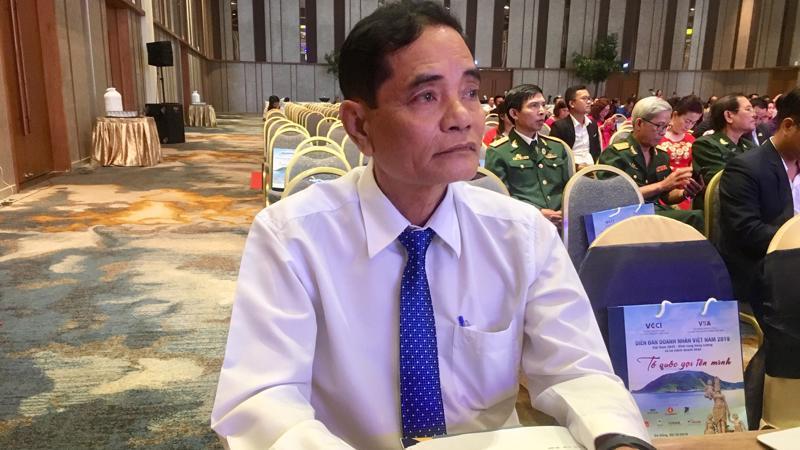 Doanh nhân Ngô Đa Thọ, Chủ tịch Hội doanh nghiêp tỉnh Phú Yên - Ảnh: Mỹ An