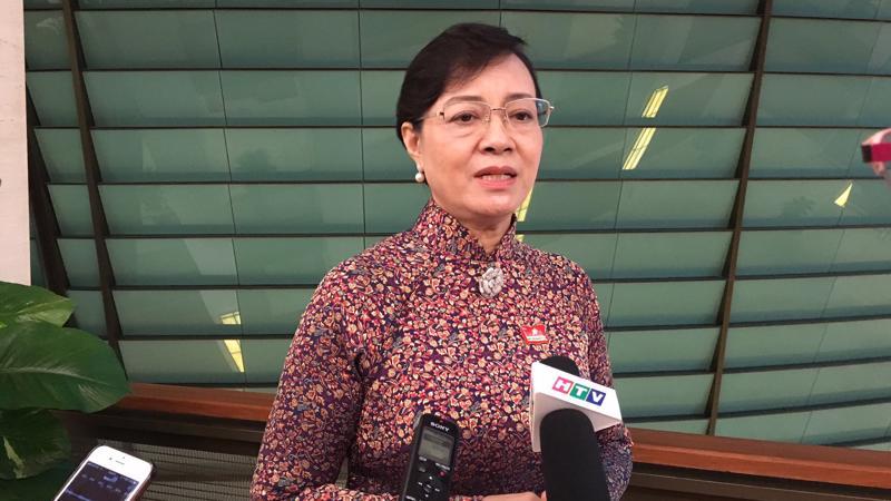 Phó bí thư Thành ủy, Chủ tịch Hội đồng nhân dân Tp. HCM Nguyễn Thị Quyết Tâm