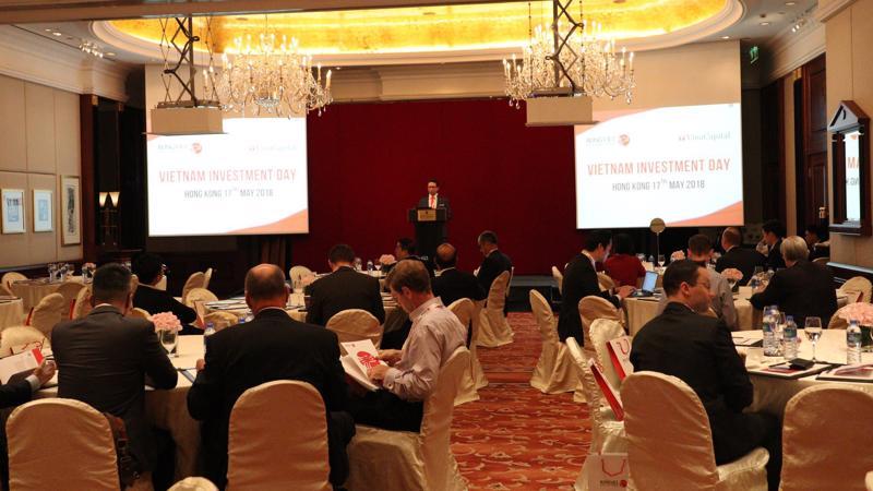 Sự kiện đã thu hút hơn 60 đại diện tới từ các tập đoàn đầu tư lớn trên toàn cầu - Những tổ chức đang quan tâm và nghiên cứu về cơ hội đầu tư tại Việt Nam.