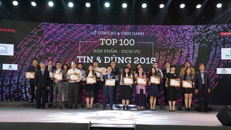 """Malloca Việt Nam vinh dự giữ vững thương hiệu uy tín, lọt Top 100 """"Sản phẩm - dịch vụ Tin & Dùng"""" do người tiêu dùng yêu mến, bình chọn."""