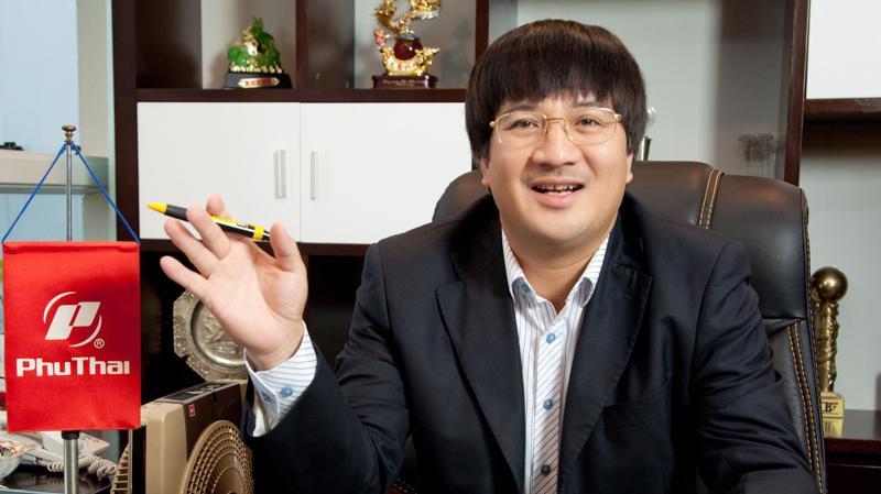 Ông Phạm Đình Đoàn, Chủ tịch Tập đoàn Phú Thái.