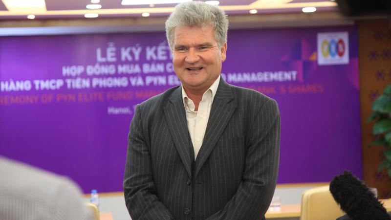 Ông Petri Deryng, Giám đốc đầu tư PYN Elite Fund.