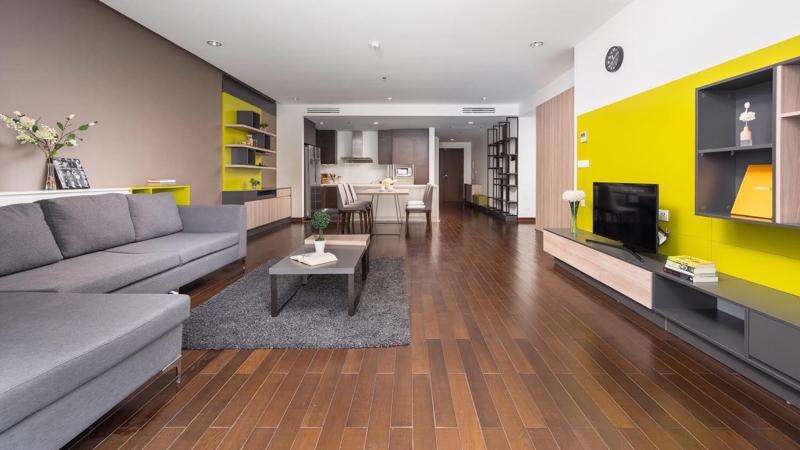 Chất lượng quản lý chuẩn 5 sao thúc đẩy tiềm năng cho thuê các căn hộ tại Lancaster Hà Nội.