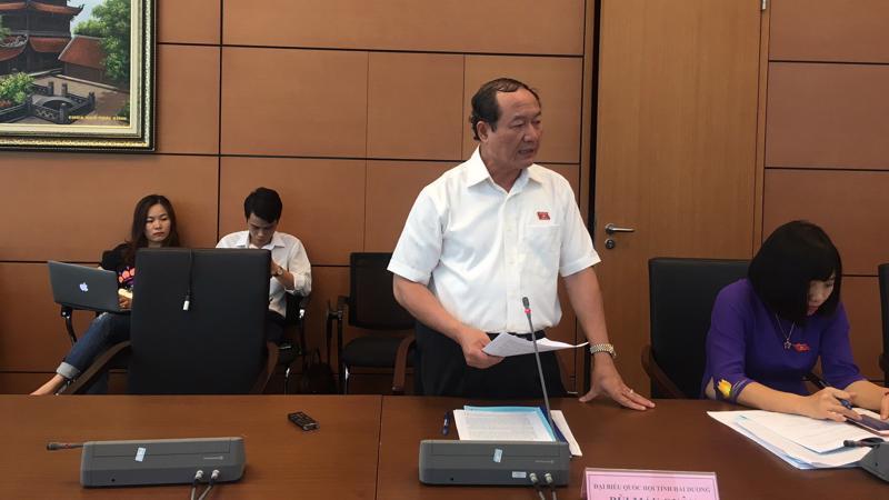 Việc bổ sung quy định cấp bậc hàm thiếu tướng đối với giám đốc công an tỉnh, thành phố trực thuộc Trung ương, ý kiến còn khác nhau.