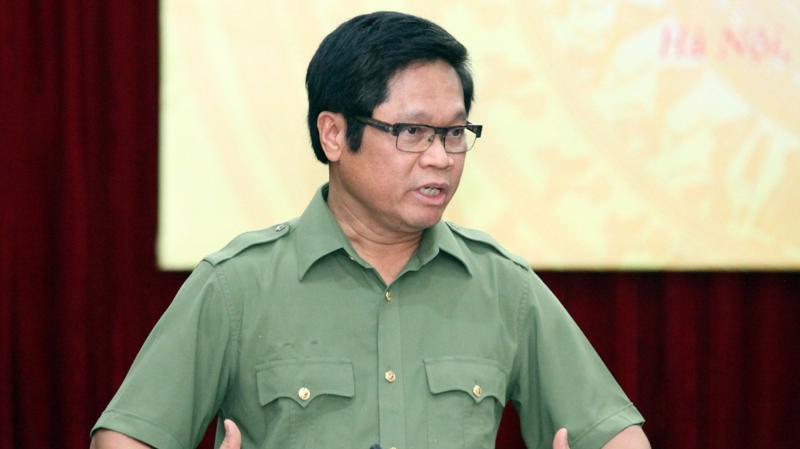 Ông Vũ Tiến Lộc, Chủ tịch Phòng Thương mại và Công nghiệp Việt Nam. Ảnh - Mạnh Dũng.