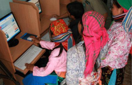 Có tới 44 tỉnh thành có tỷ lệ gia đình có nối mạng Internet chỉ đạt từ 5% trở xuống.