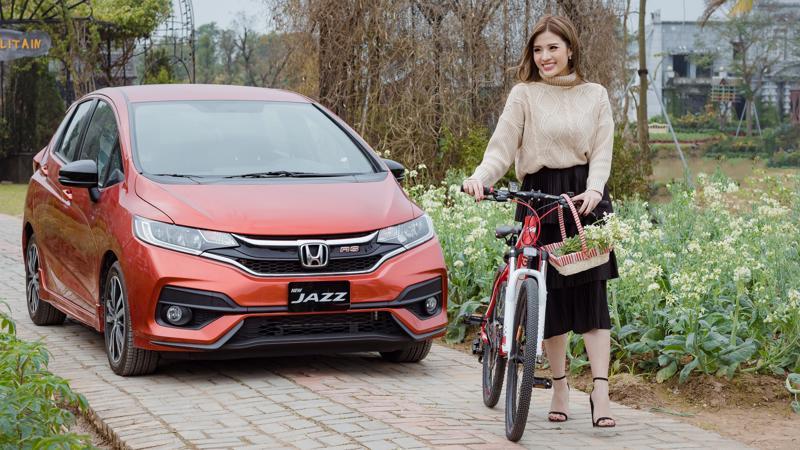 Tân binh Jazz đã được người tiêu dùng ngóng chờ từ lâu sau khi Honda trưng bày tại triển lãm Vietnam Motor Show 2017.