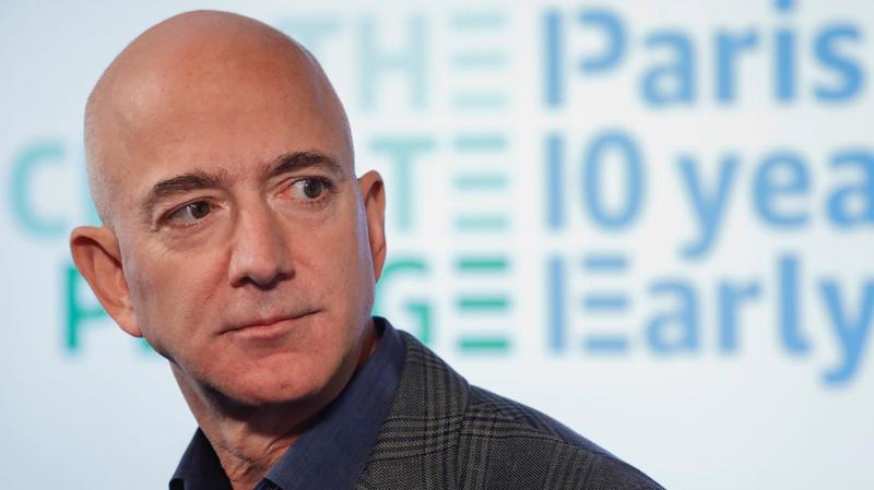 Tỷ phú Jeff Bezos, người sáng lập, CEO của Amazon - Ảnh: Forbes