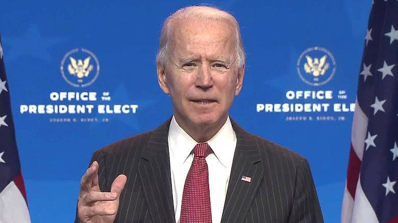 Tổng thống đắc cử Joe Biden - Ảnh: CNN