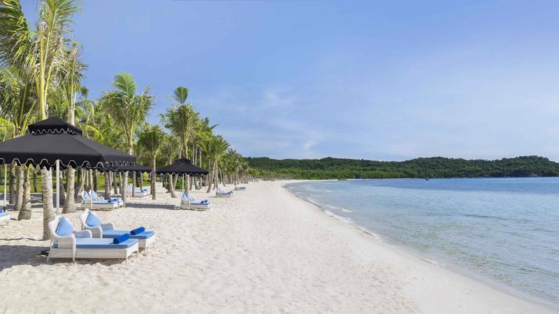 Sun Group đang đầu tư quần thể du lịch, giải trí tỷ đô tại Nam Phú Quốc (Ảnh: Khu nghỉ dưỡng JW Marriott Phu Quoc Emerald Bay).