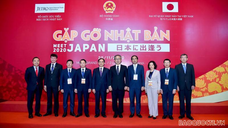 """Các đại biểu dự Hội nghị """"Gặp gỡ Nhật Bản 2020"""". Ảnh: Báo Quốc tế"""