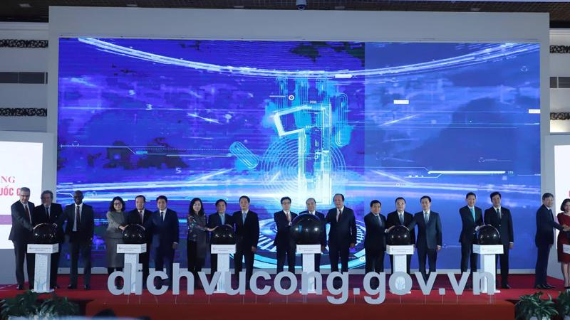 Cổng Dịch vụ công Quốc gia đã được khai trương ngày 9/12 vừa qua - Ảnh: Quang Phúc