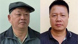 Hai bị can Đào Quốc Việt và Trần Quang Tiến