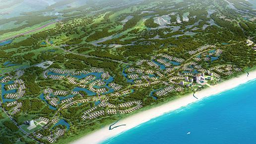 Khu biệt thự sinh thái và nghỉ dưỡng cao cấp Hải Ninh.