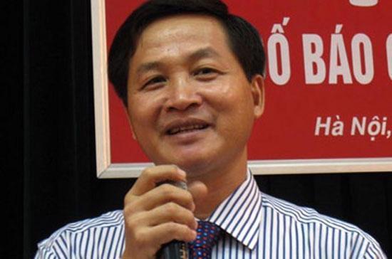 Phó tổng Kiểm toán Nhà nước Lê Minh Khái.