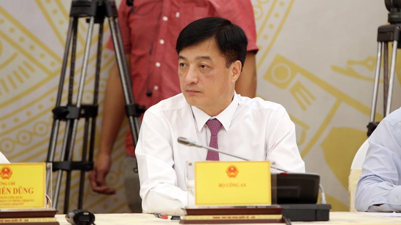 Thứ trưởng Bộ Công an Nguyễn Duy Ngọc - Ảnh: MT