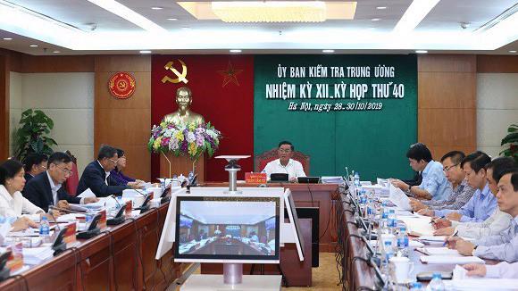 Kỳ họp thứ 40 của Uỷ ban Kiểm tra Trung ương