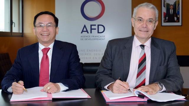 Đại diện EVN và AFD ký thoả ước tài trợ vốn