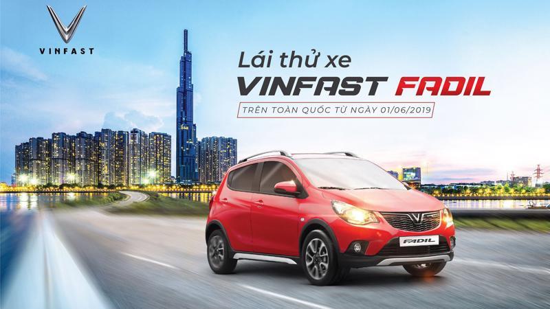 Những mẫu xe VinFast Fadil bản hoàn thiện đầu tiên sẽ có mặt tại 32 đại lý, showroom trên toàn quốc từ ngày 1/6/2019 để sẵn sàng cho các khách hàng lái thử, trải nghiệm thực tế.