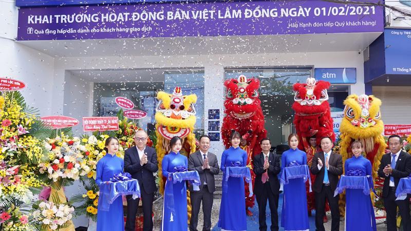 BVB Lâm Đồng - chi nhánh đầu tiên của Ngân hàng Bản Việt tại tỉnh Lâm Đồng.