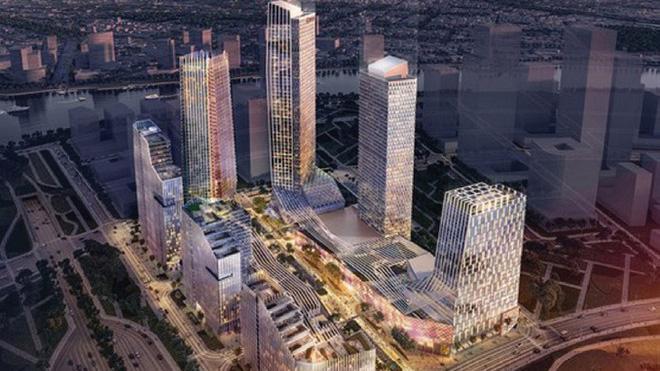 Phối cảnh dự án Eco Smart City Thủ Thiêm, Tp.Thủ Đức, Tp.HCM.