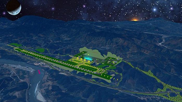 Phối cảnh thiết kế sân bay Sa Pa.