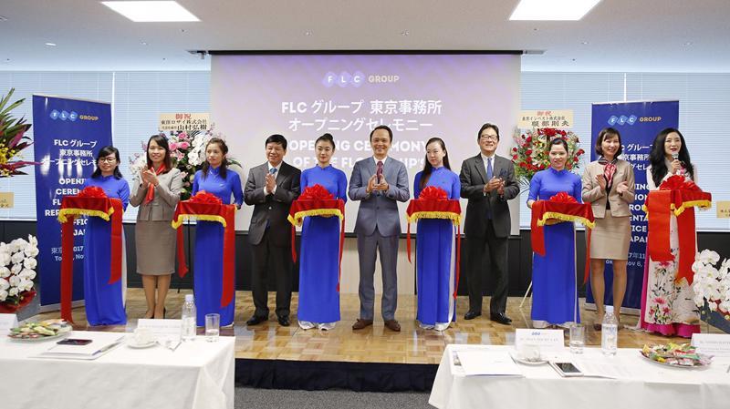 Văn phòng đại diện tại Nhật Bản sẽ là đầu mối kết nối thông tin, khai thác cơ hội đầu tư, xúc tiến giao dịch kinh doanh giữa FLC và đối tác Nhật Bản trong các lĩnh vực kinh doanh cốt lõi và mở rộng.