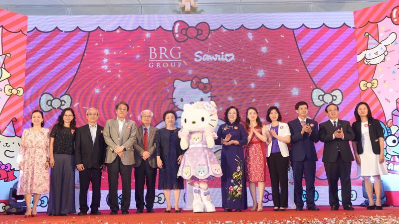 Lễ công bố triển khai dự án Sanrio Hello Kitty World Hà Nội by BRG 2.