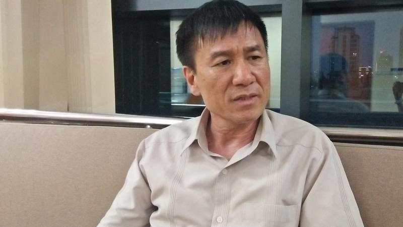 Ông Lê Đình Quảng - Phó Trưởng ban Quan hệ lao động (Tổng Liên đoàn Lao động Việt Nam). Ảnh - N.Dương.