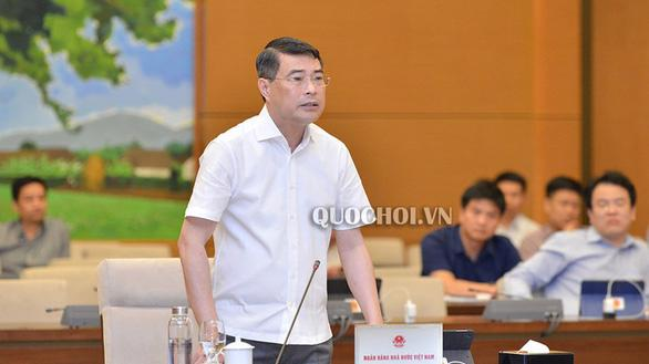 Thống đốc Ngân hàng Nhà nước Lê Minh Hưng.
