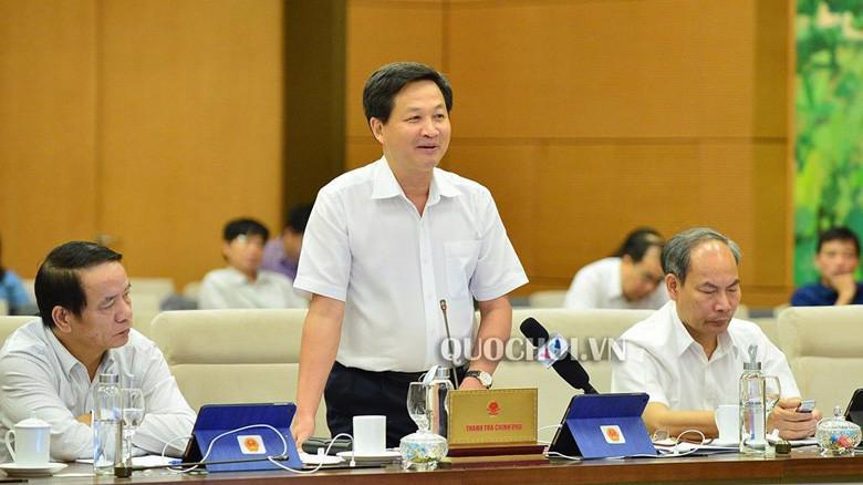 Tổng Thanh tra Chính phủ Lê Minh Khái.