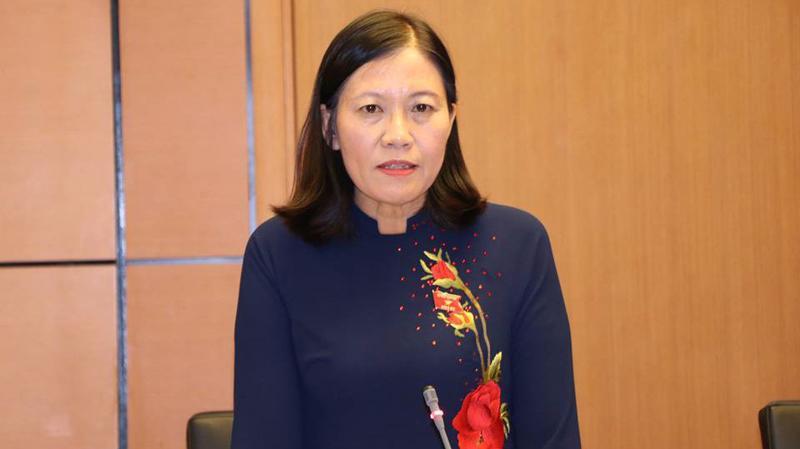 Chủ nhiệm Uỷ ban Tư pháp Lê Thị Nga: người dân quan niệm là tướng thì phải cầm quân.