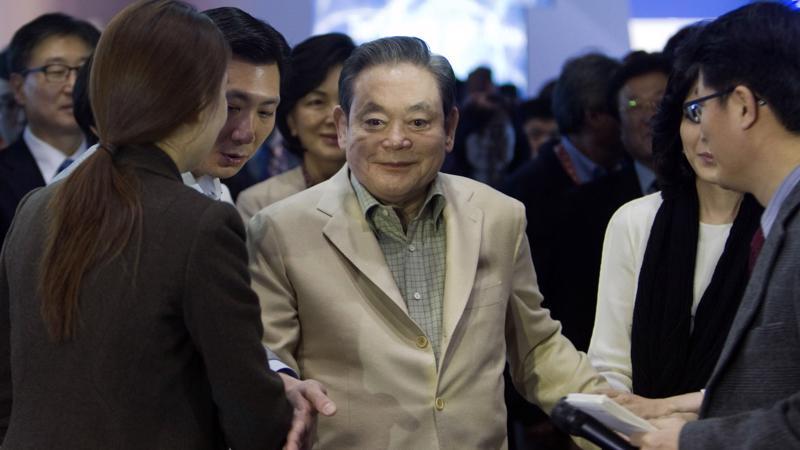 Cố chủ tịch Lee Kun Hee của tập đoàn Samsung - Ảnh: Reuters.