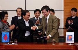Lễ ký kết diễn ra tại Hà Nội ngày 25/1.