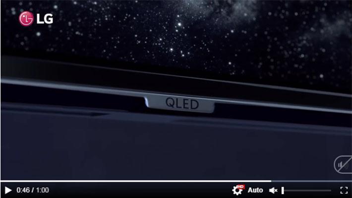 """Quảng cáo gây """"tranh cãi"""" của LG - Ảnh chụp từ TVC quảng cáo về OLED TV của LG."""