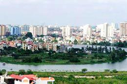 Một góc khu đô thị mới Linh Đàm hiện nay.