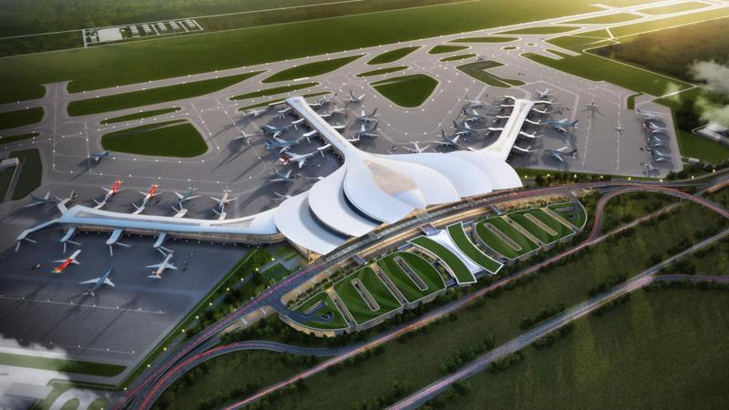 Dự án Cảng hàng không Quốc tế Long Thành.